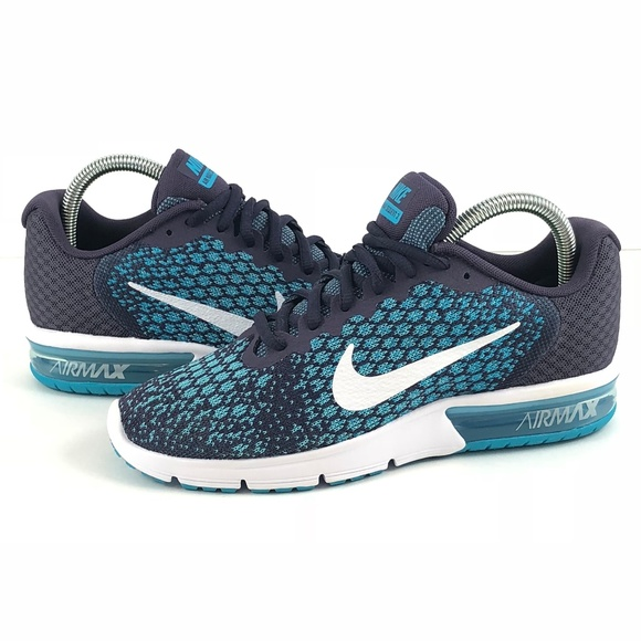 98fd8b2197b2 NWT Nike Air Max Sequent 2 Blue Women s Size 7